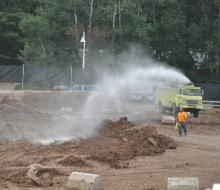 autocross water fire
