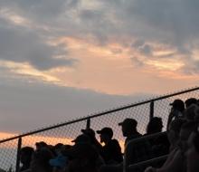sunset grandstands