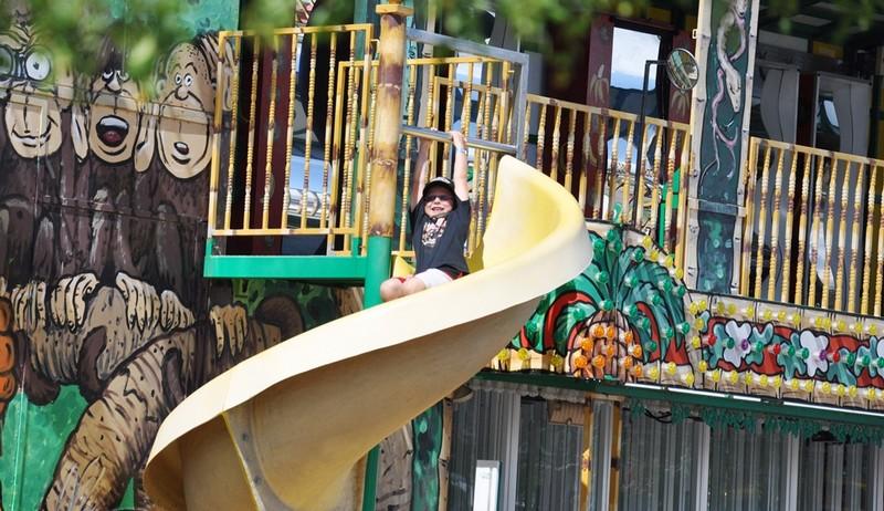 carnival monkey house