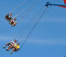 carnival blue sky 1
