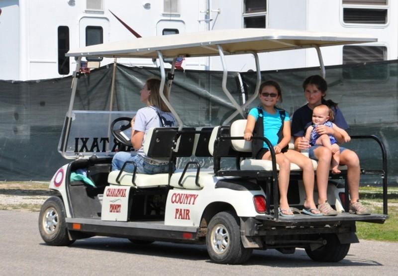 web fair fun ride cart